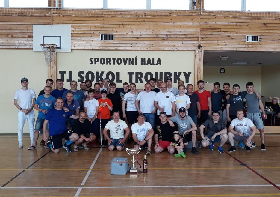 Florbalový turnaj Troubky